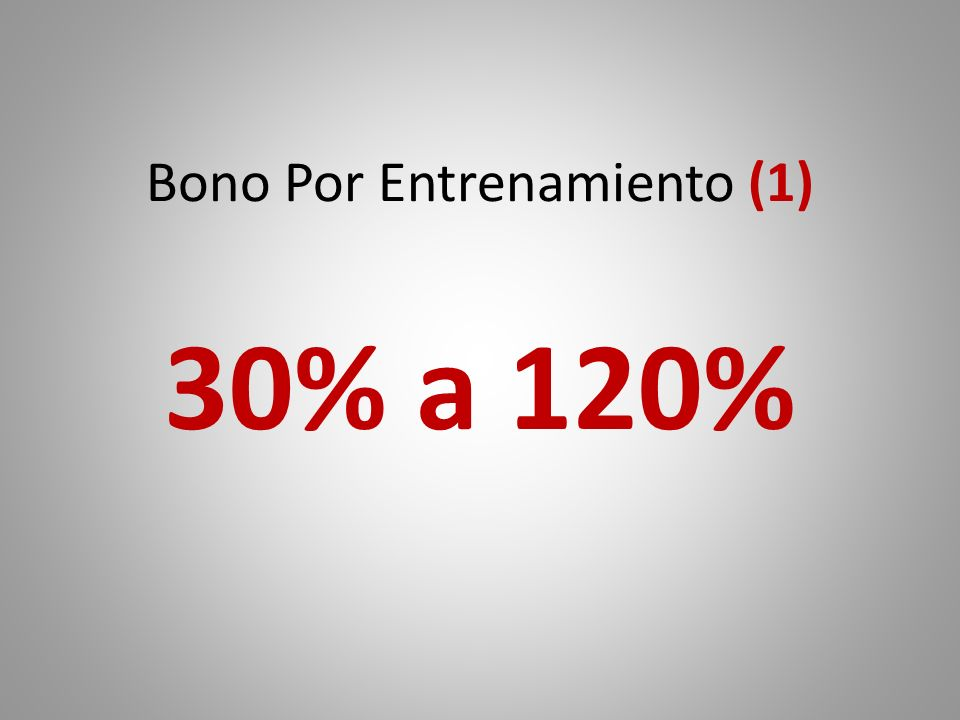 Bono Por Entrenamiento (1)
