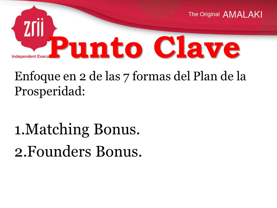 Punto Clave Matching Bonus. Founders Bonus.