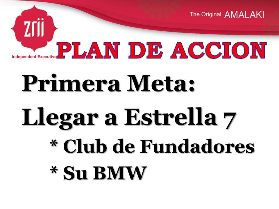 Primera Meta: Llegar a Estrella 7 * Club de Fundadores * Su BMW