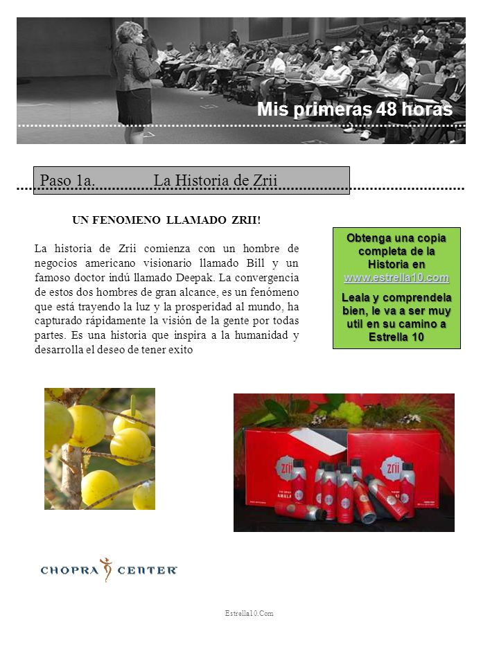Obtenga una copia completa de la Historia en www.estrella10.com