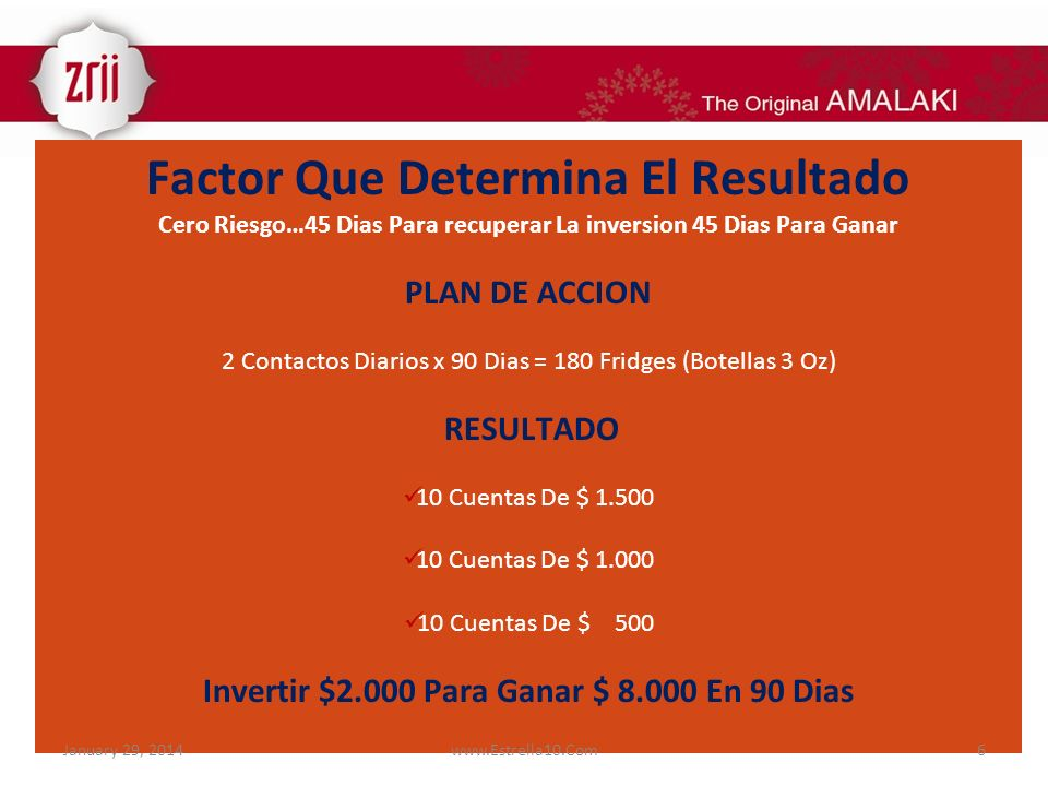 Factor Que Determina El Resultado