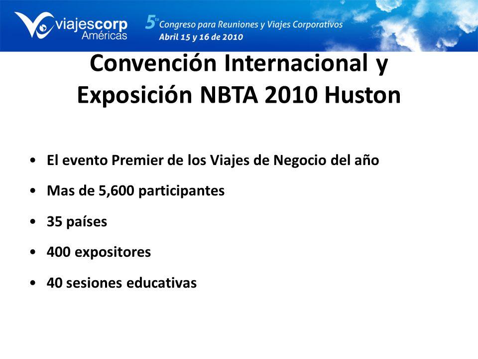 Convención Internacional y Exposición NBTA 2010 Huston