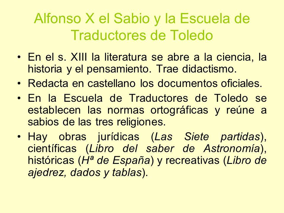 Alfonso X el Sabio y la Escuela de Traductores de Toledo