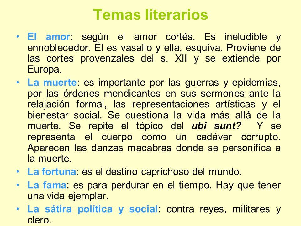 Temas literarios