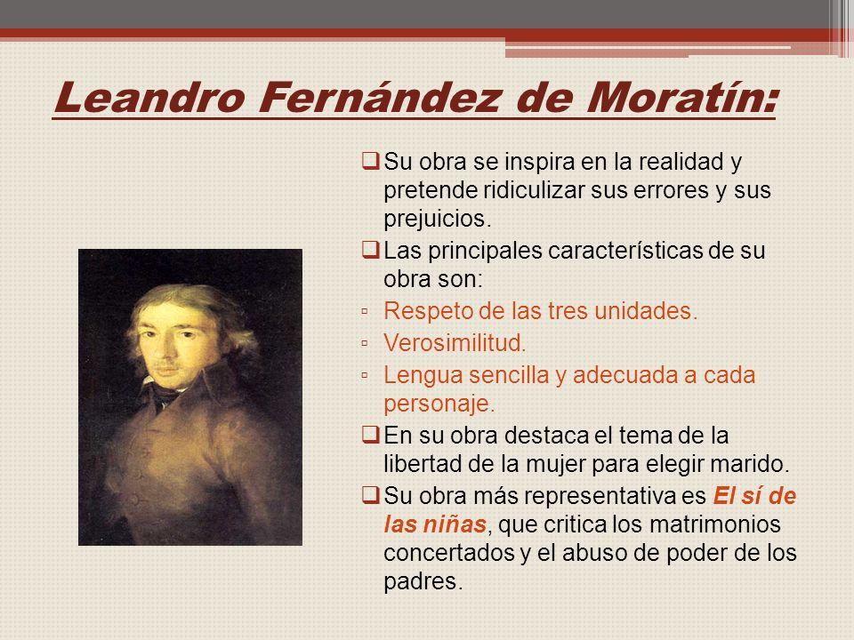 Leandro Fernández de Moratín:
