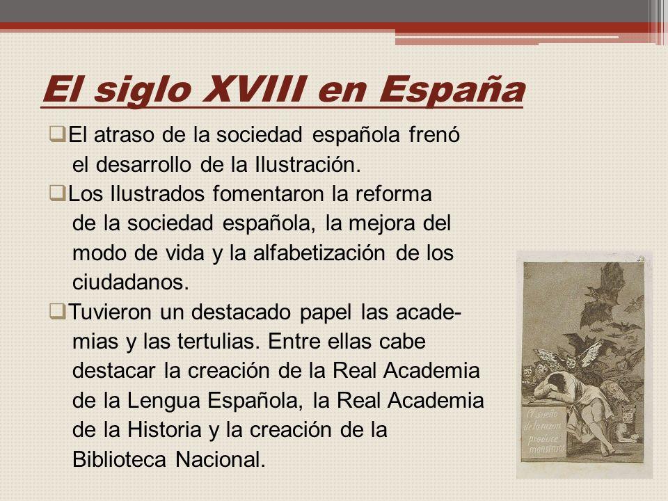 El siglo XVIII en España