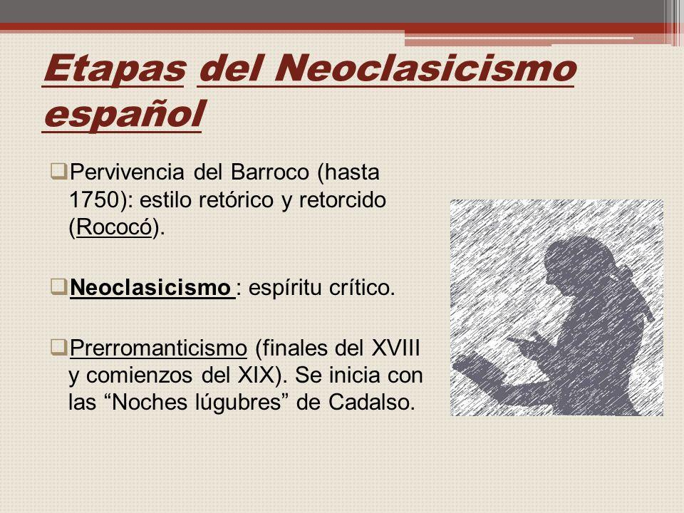 Etapas del Neoclasicismo español