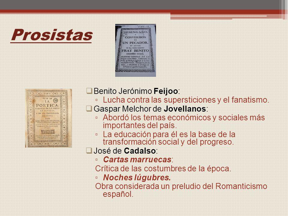 Prosistas Benito Jerónimo Feijoo:
