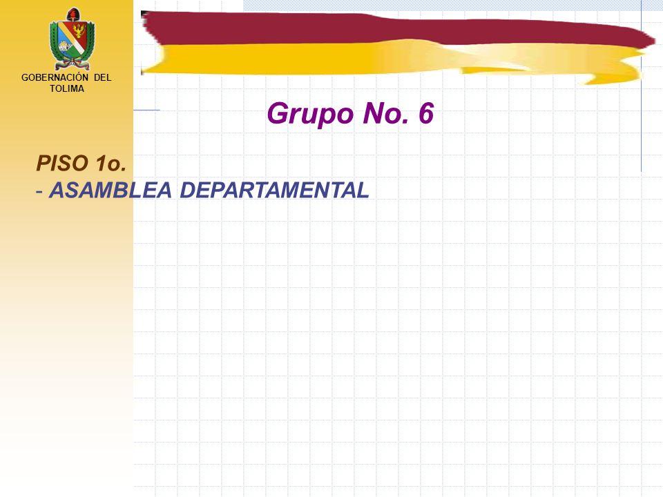 Grupo No. 6 PISO 1o. ASAMBLEA DEPARTAMENTAL