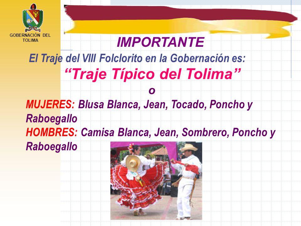 Traje Típico del Tolima