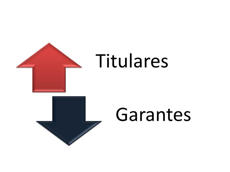 Titulares Garantes