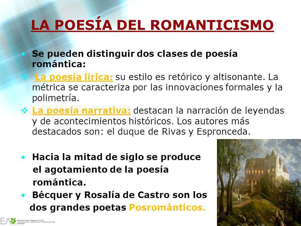 LA POESÍA DEL ROMANTICISMO