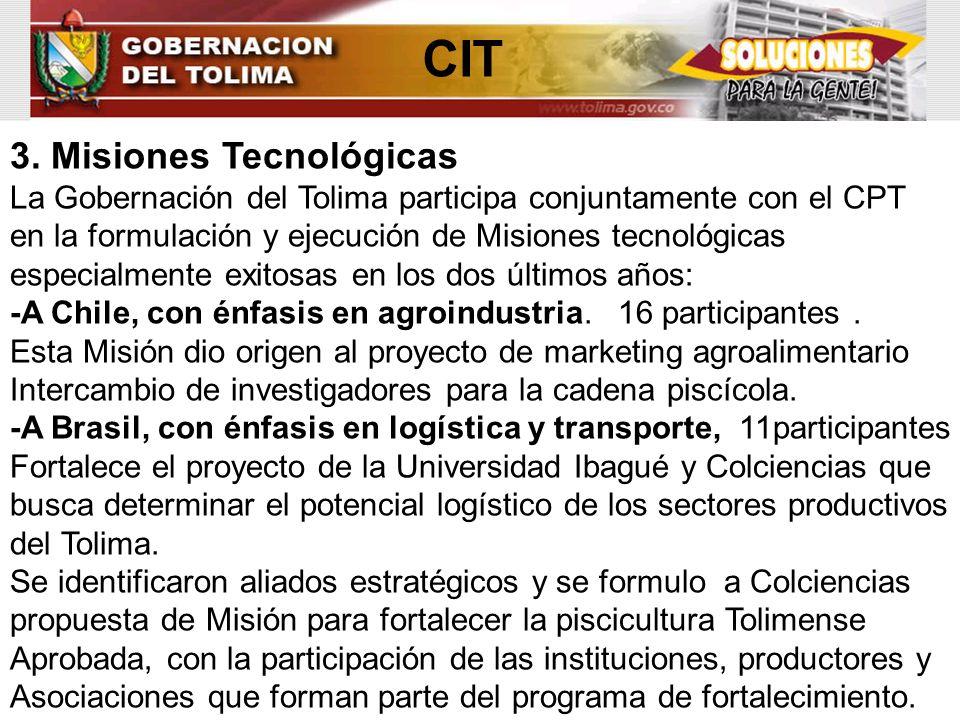 CIT 3. Misiones Tecnológicas