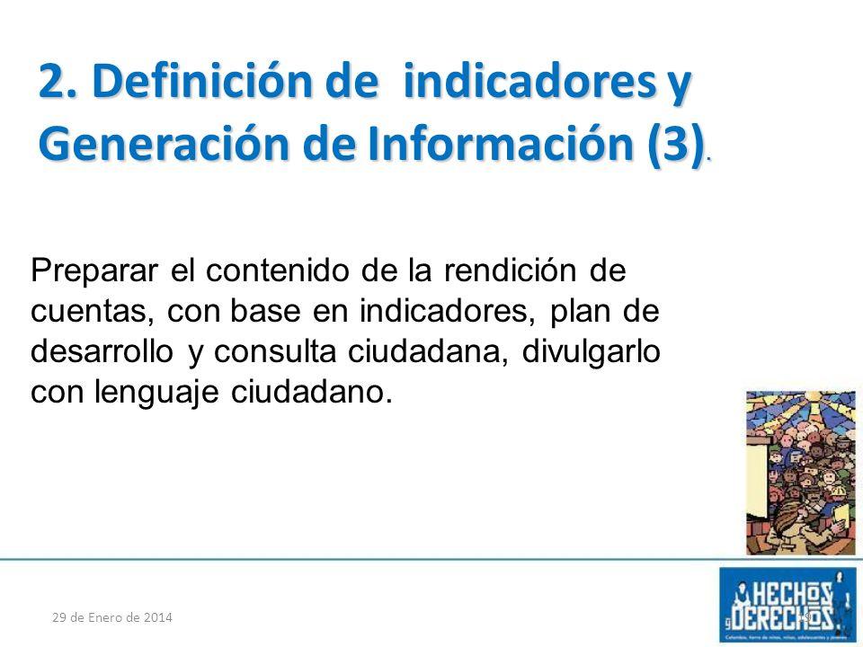 2. Definición de indicadores y Generación de Información (3).
