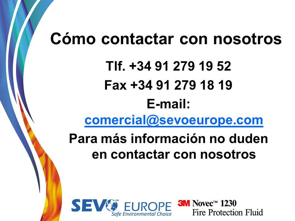 Cómo contactar con nosotros
