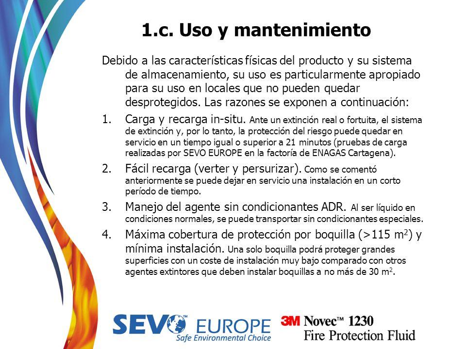1.c. Uso y mantenimiento