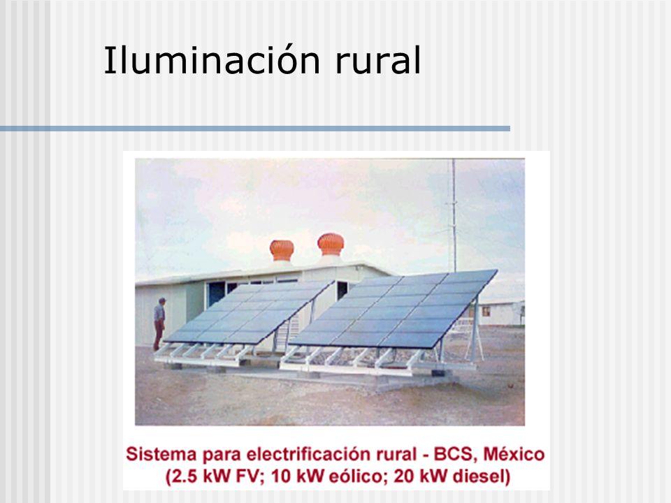 Iluminación rural