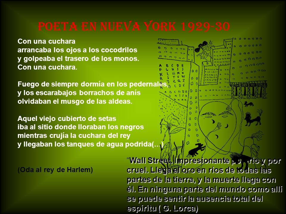 POETA EN NUEVA YORK 1929-30