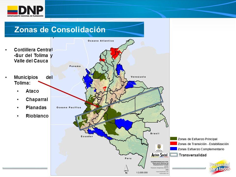 Zonas de Consolidación
