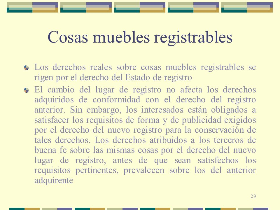 Cosas muebles registrables