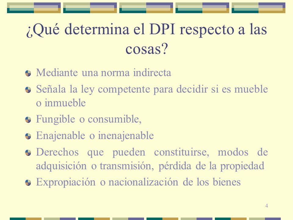 ¿Qué determina el DPI respecto a las cosas