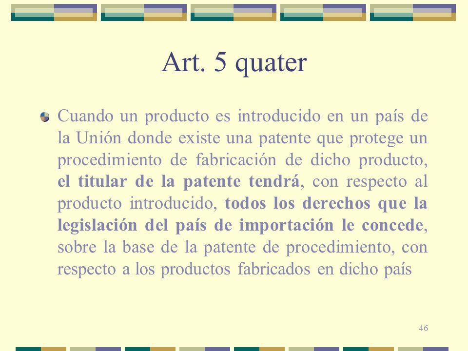 Art. 5 quater