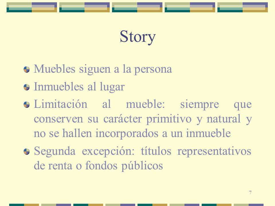 Story Muebles siguen a la persona Inmuebles al lugar