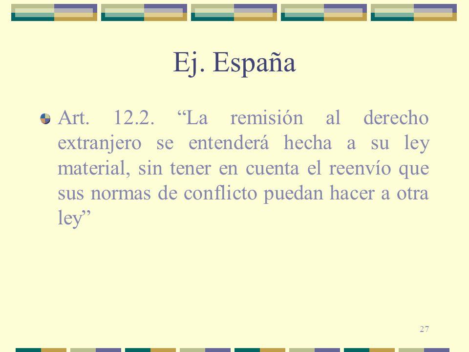 Ej. España
