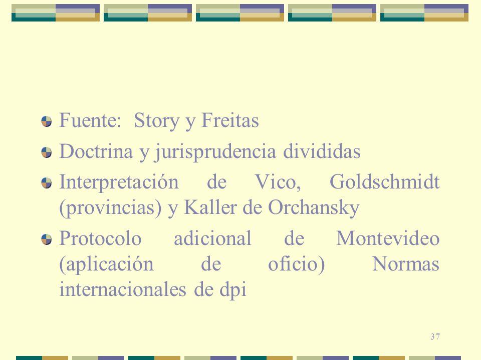 Fuente: Story y Freitas