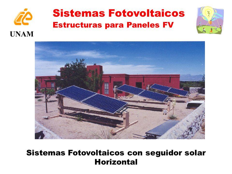 Sistemas Fotovoltaicos con seguidor solar Horizontal