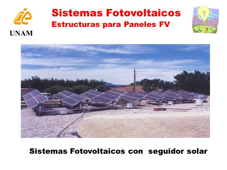 Sistemas Fotovoltaicos con seguidor solar