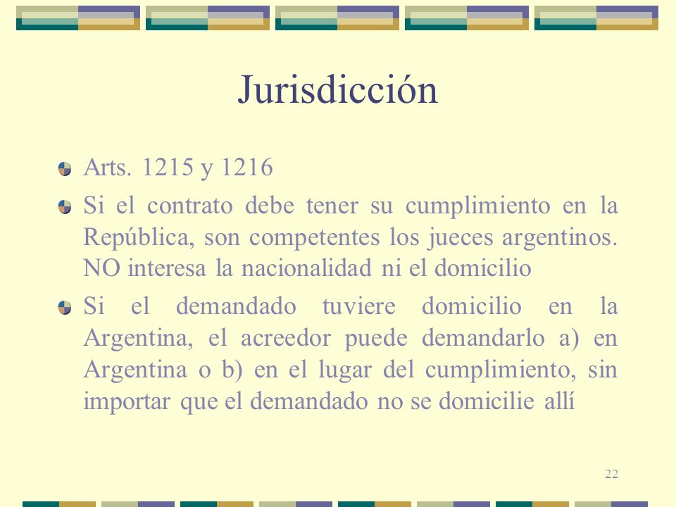 Jurisdicción Arts y