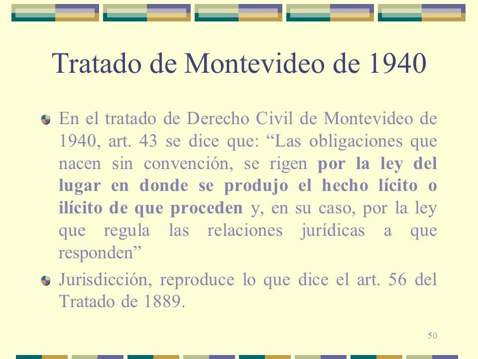 Tratado de Montevideo de 1940