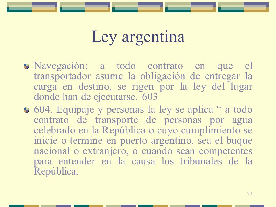 Ley argentina