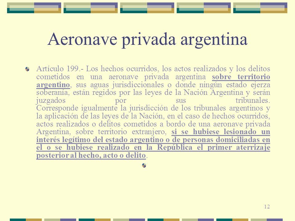 Aeronave privada argentina
