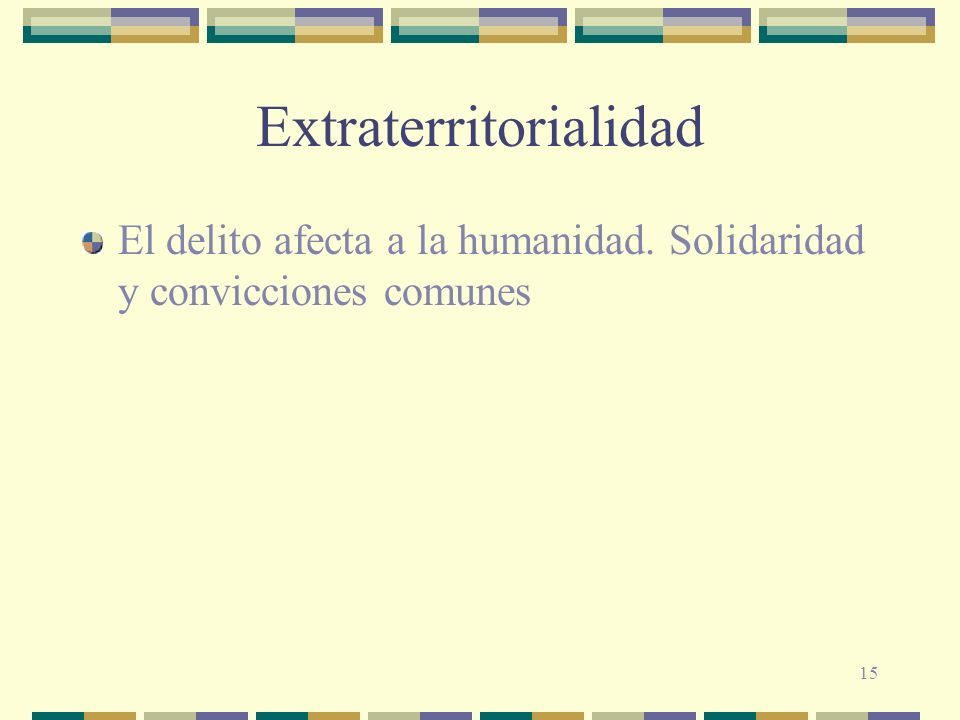 Extraterritorialidad