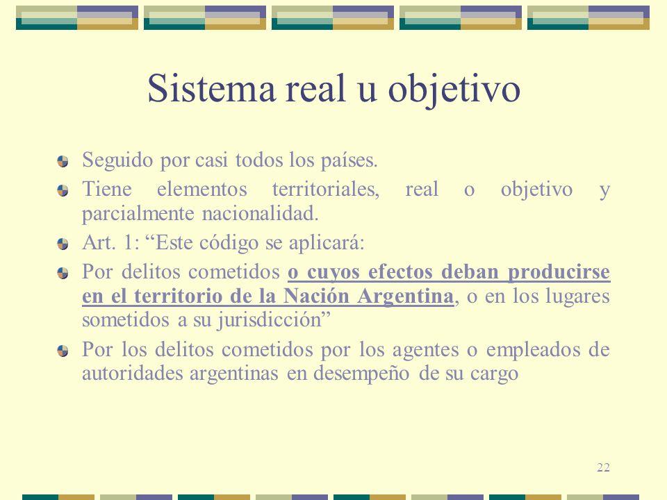 Sistema real u objetivo