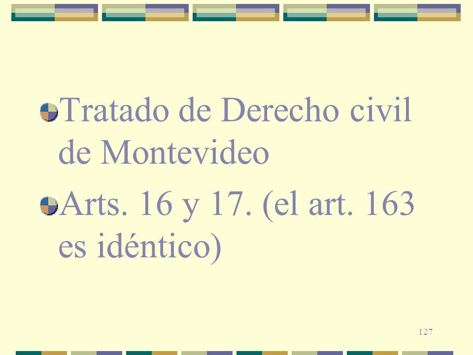 Tratado de Derecho civil de Montevideo