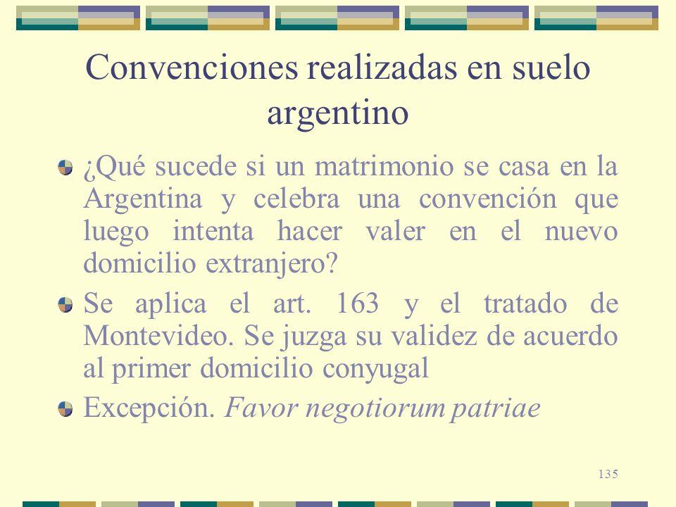 Convenciones realizadas en suelo argentino
