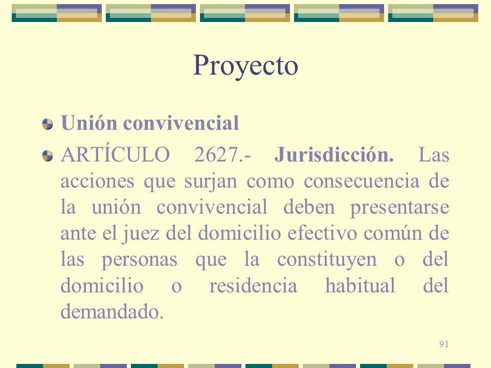 Proyecto Unión convivencial