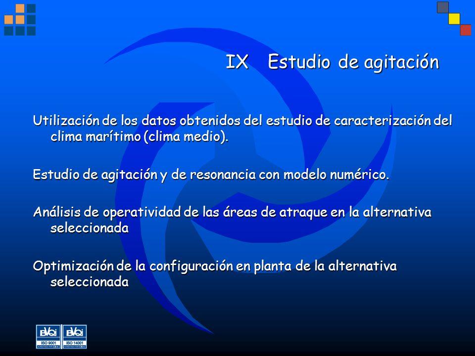 IX Estudio de agitación