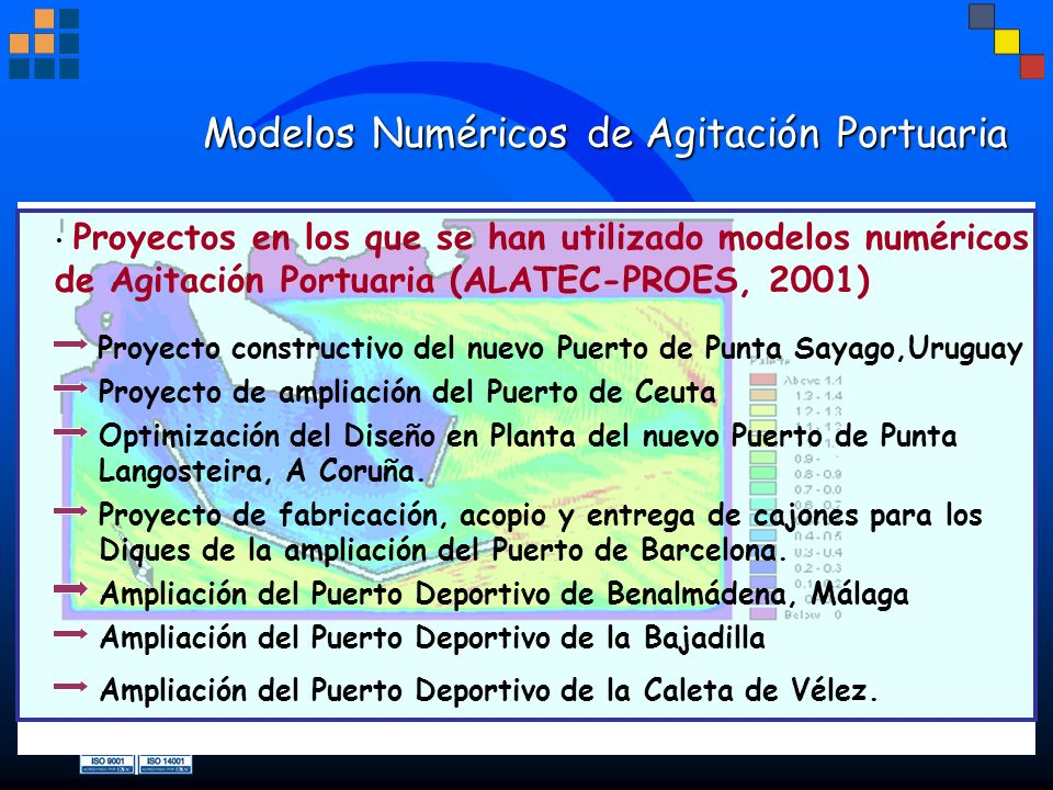 Modelos Numéricos de Agitación Portuaria