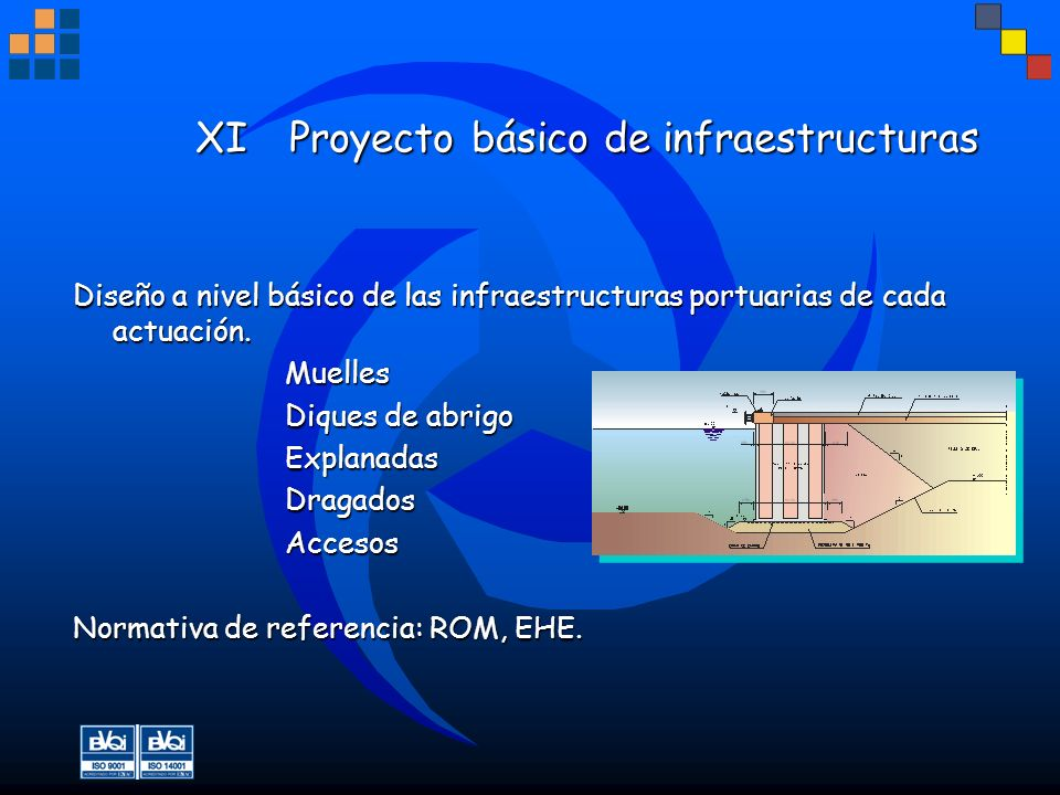 XI Proyecto básico de infraestructuras