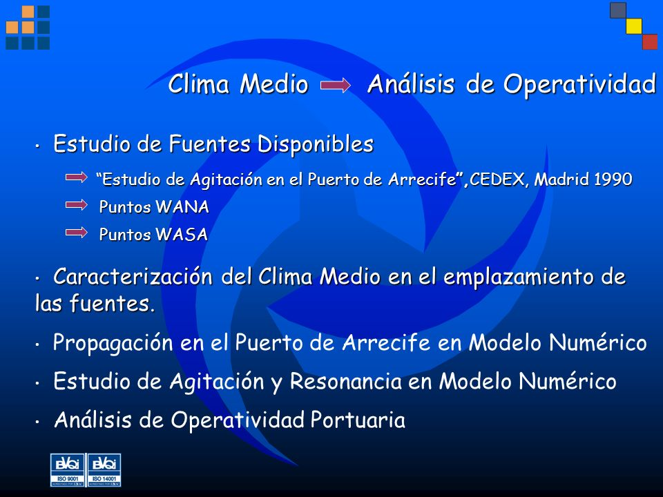 Clima Medio Análisis de Operatividad
