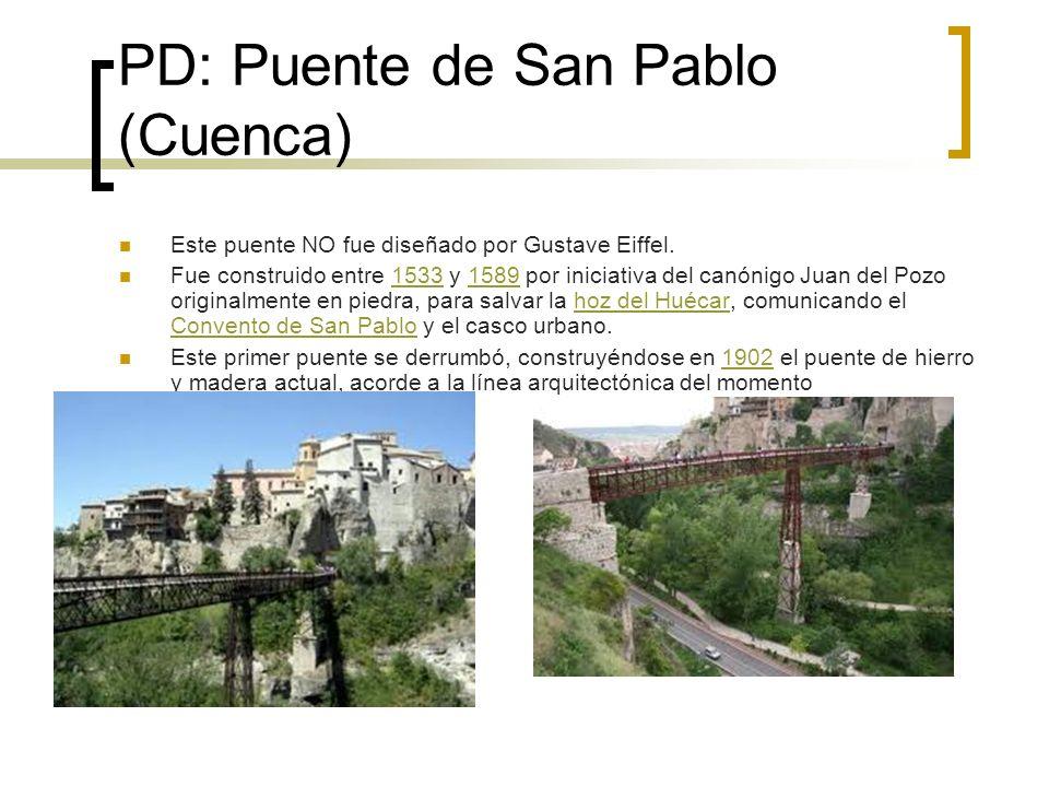 PD: Puente de San Pablo (Cuenca)