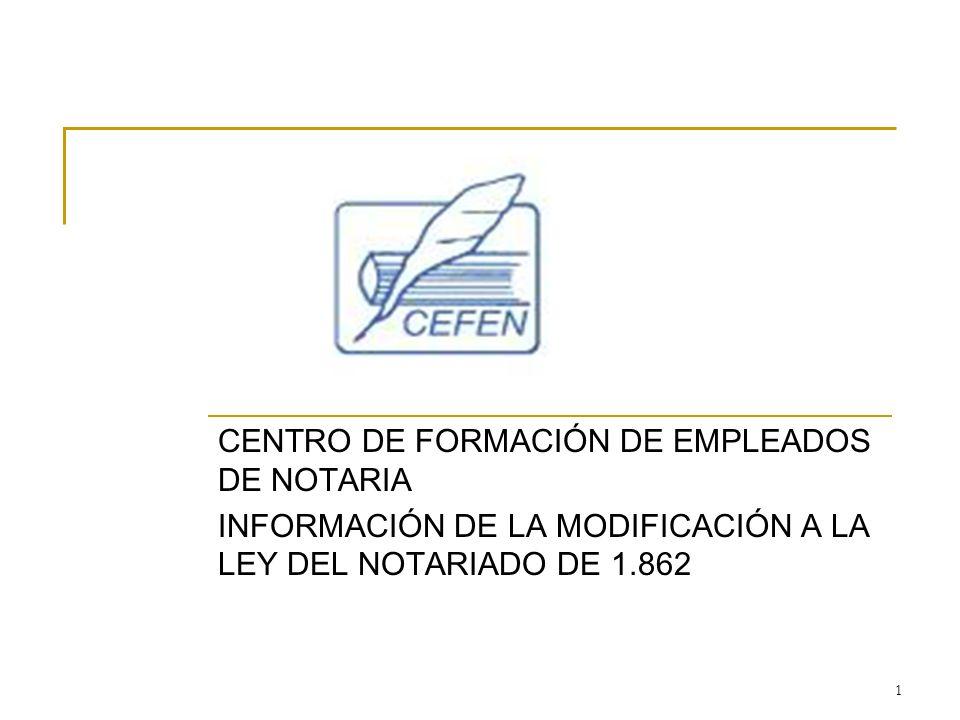 CENTRO DE FORMACIÓN DE EMPLEADOS DE NOTARIA