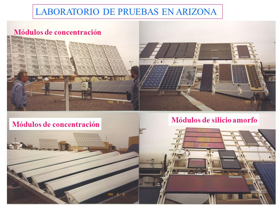 LABORATORIO DE PRUEBAS EN ARIZONA