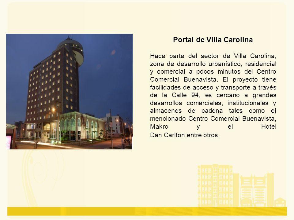 Portal de Villa Carolina