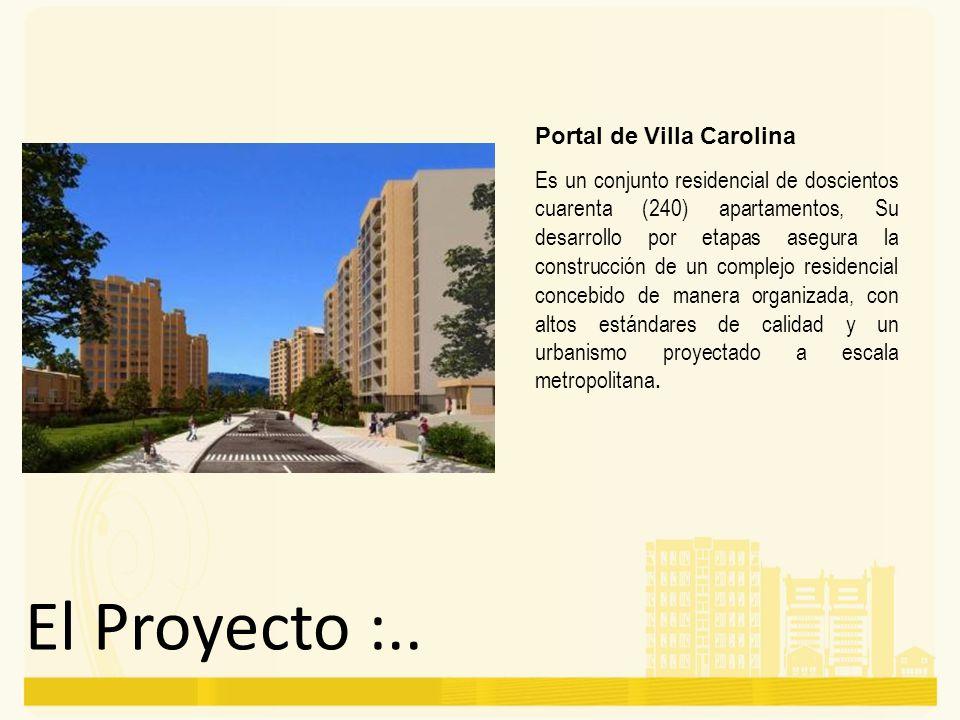 El Proyecto :.. Portal de Villa Carolina