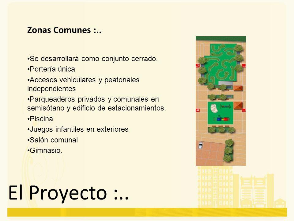 El Proyecto :.. Zonas Comunes :..